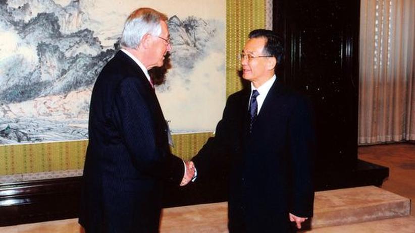 Theo Sommer, Wen Jiabao