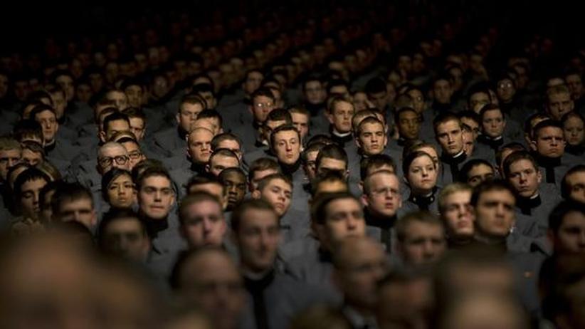 Amerikanische Offiziersanwärter