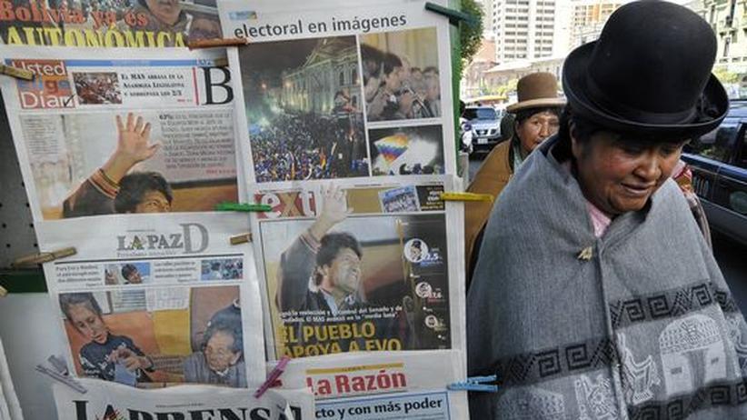 Bolivien: Ich bin ein Indianer