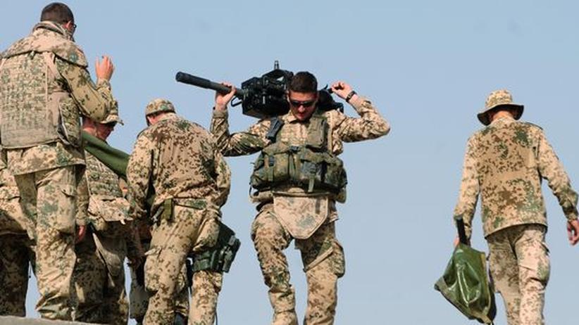Deutscher Soldat im Kundus, Afghanistan