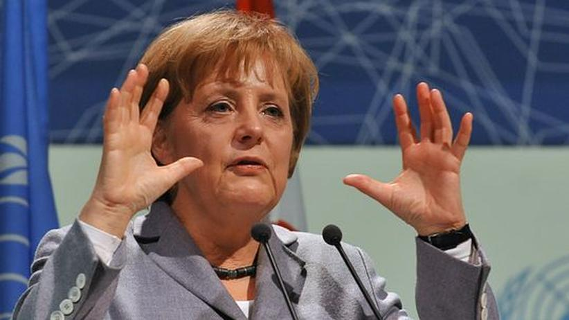 Gespräche in Kopenhagen: Merkel startet ihre Klima-Mission
