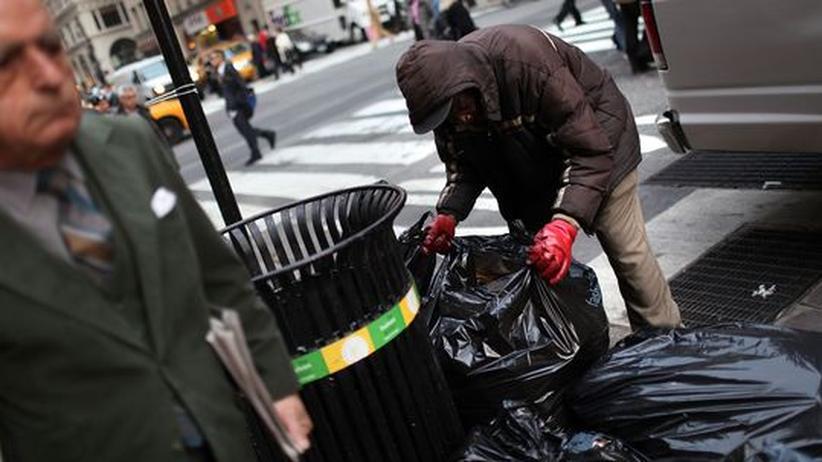 Börsenboom und Stadtmisere: New York kämpft gegen die Staatspleite