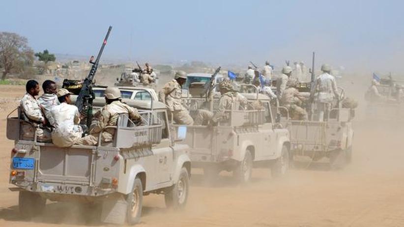 Iran und Saudi-Arabien: Saudische Soldaten rücken zur jemenitischen Grenze vor