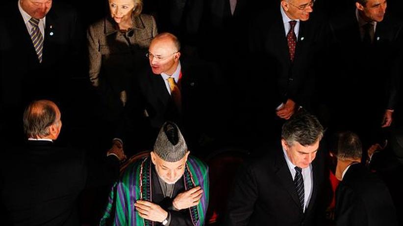 Konferenz in London: Letzter Kraftakt für Afghanistan