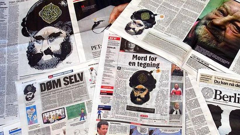 """Karikaturenstreit: Islamisten planten Sprengung von """"Jyllands-Posten"""""""