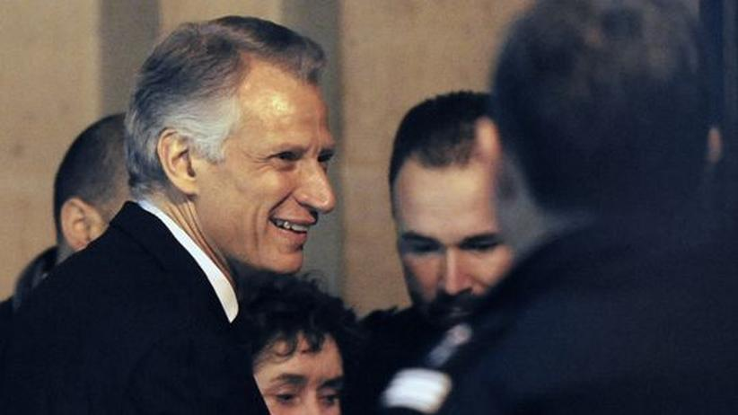 Freispruch im Clearstream-Prozess: Villepin triumphiert über Sarkozy