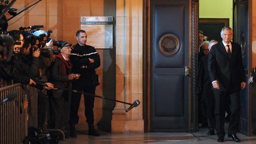 Clearstream-Prozess: Freispruch für Ex-Premier Villepin