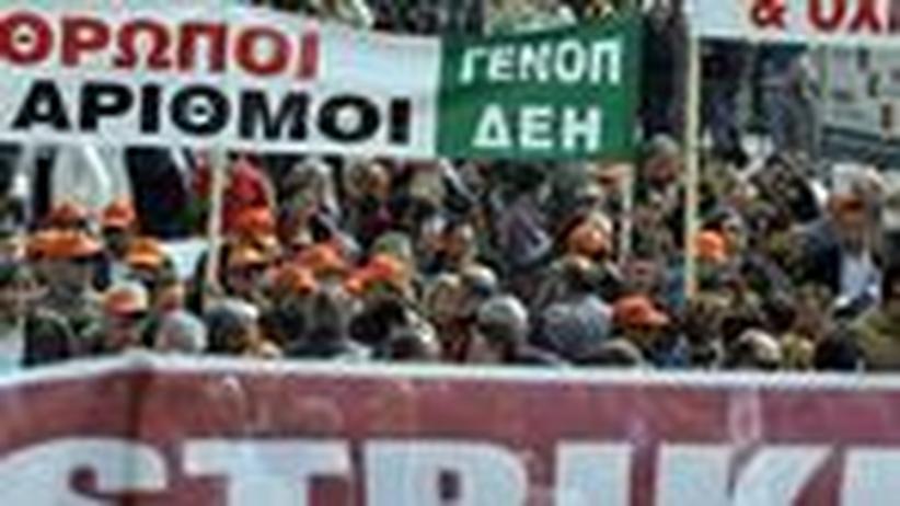 Staatskrise in Griechenland: Streiken gegen die Krise