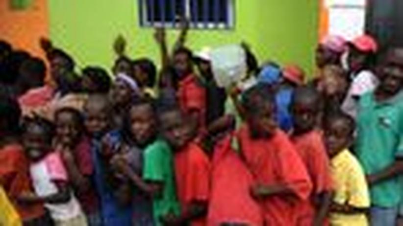 Haiti: Nicht nur Reis verteilen