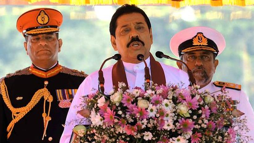 Prozess vor Militärgericht: Sri Lankas Präsident lässt seine Gegner verhaften