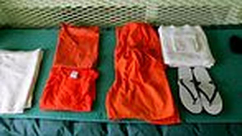 Guantánamo: Die Wette des Ministers