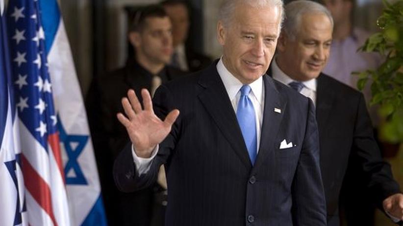 Biden in Jerusalem: USA geben Israel Sicherheitsgarantie
