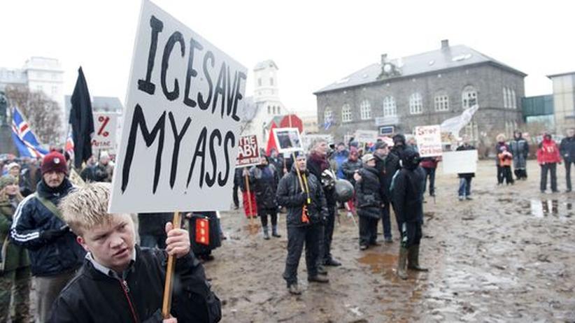 Icesave-Referendum: 93 Prozent der Isländer sagen Nein zu Schuldentilgung