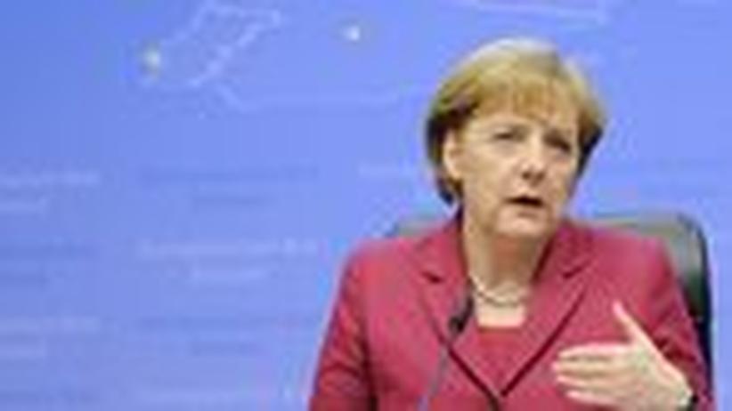 Währungsunion: Merkel hat richtig gehandelt