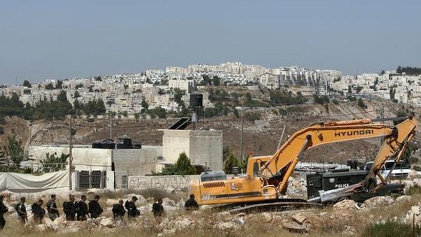 Siedlungsbau in Nahost: Biden sieht sich von Israel hintergangen