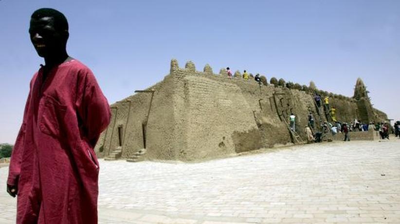 Eine Moschee in Timbuktu