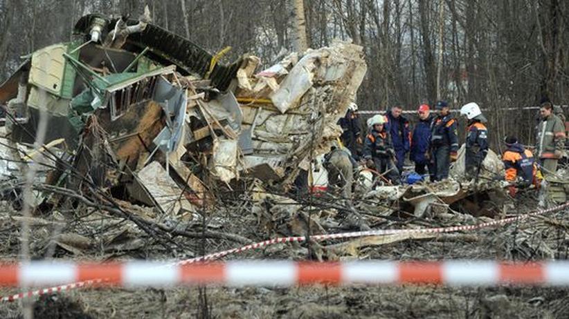 Flugzeugabsturz Smolensk: Weniger als ein Drittel der Leichen ist identifiziert
