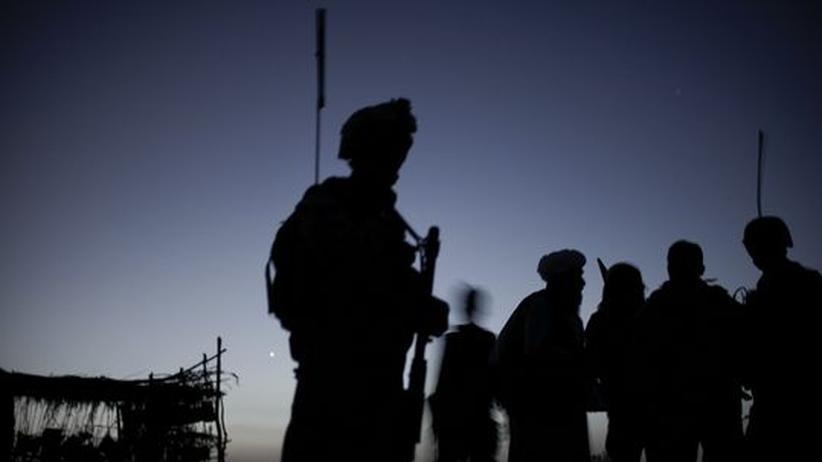 US-Armee afghanische Soldaten ANA Marines