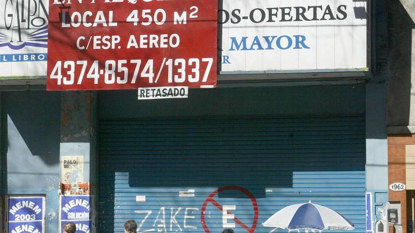 Schuldenkrise: Nehmt Argentinien zum Vorbild!