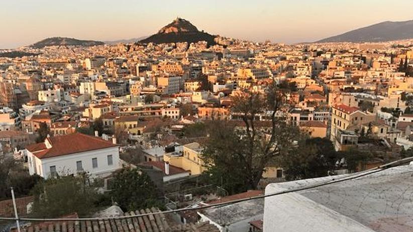 Feierabendstimmung in Athen