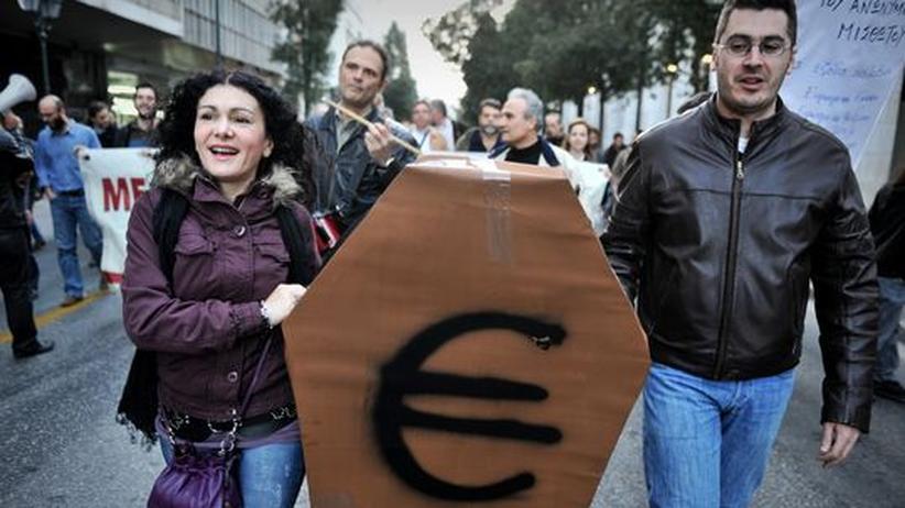 Finanzkrise: Griechenland will IWF-Hilfe vermeiden
