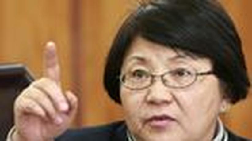 Kirgistans Oppositionsführerin: Die zweifache Putschistin