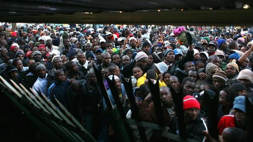 Südafrika Flüchtlinge