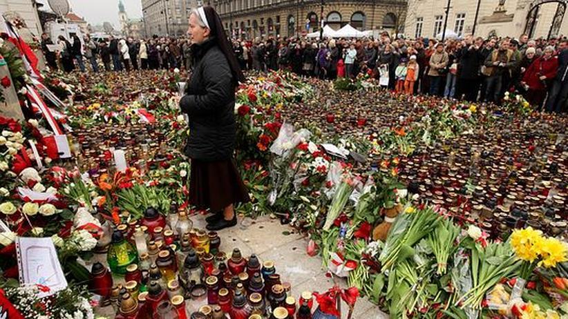 Polen in Trauer: Als ginge ein Teil der Familie