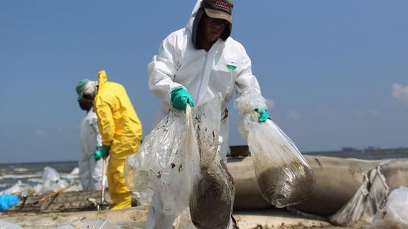 """Naturkatastrophe: US-Regierung """"wütend"""" über BP"""