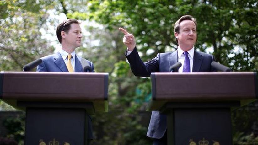 Großbritannien: Neustart mit Tories und Öko-Liberalen