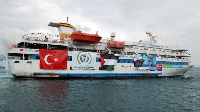 Israel: Schiffe mit rund 700 pro-palästinensische Aktivisten aus 40 Ländern steuern auf eine israelische Seeblockade vor dem Gazastreifen zu