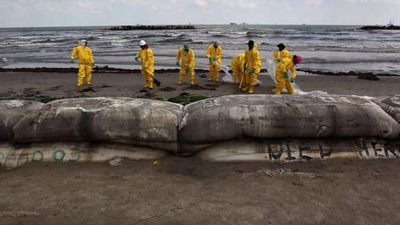 Bekämpfung der Ölpest: Die US-Regierung ist auf BP angewiesen