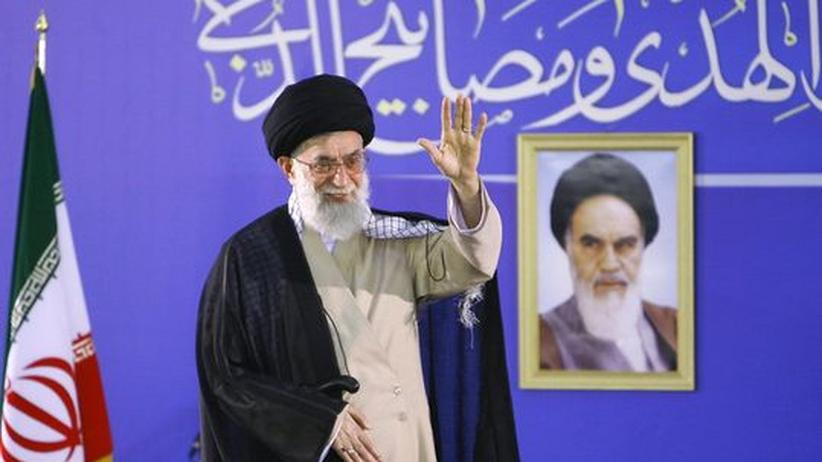 Revolutionsführer und Hardliner Chamenei
