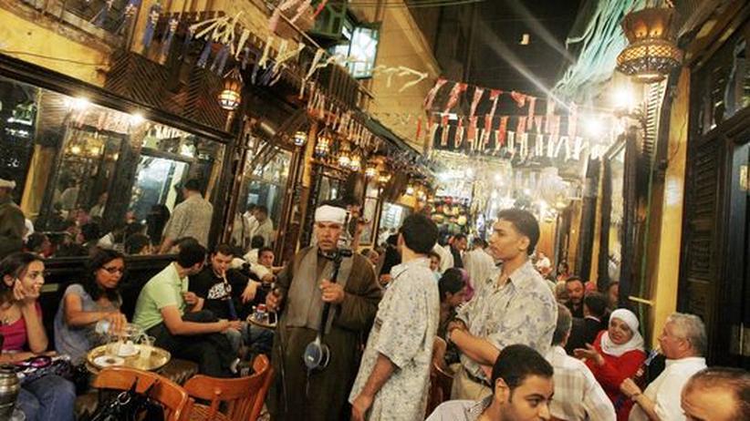 Gerichtsurteil: Straßenszene in Kairo – in Ägypten sollen bald Ehemänner jüdischer Frauen die Staatsbürgerschaft verlieren.