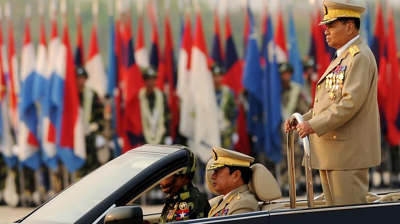 Atomwaffen: Birmas Generäle unter Verdacht