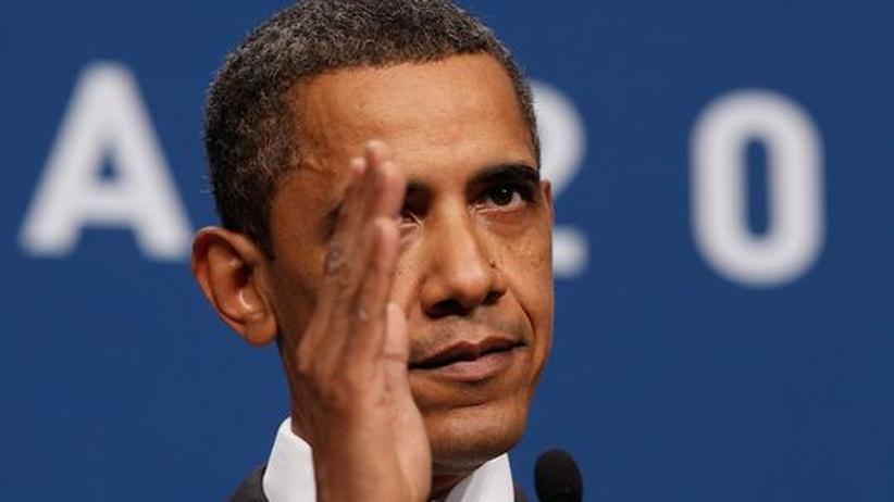 US-Präsident Barack Obama beim G-20-Gipfel in Toronto