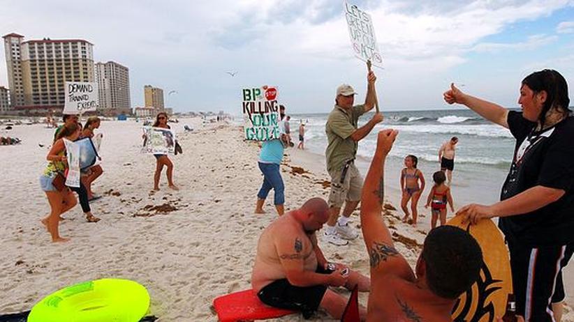 Golf von Mexiko: Küstenwache spricht vom Krieg gegen das Öl