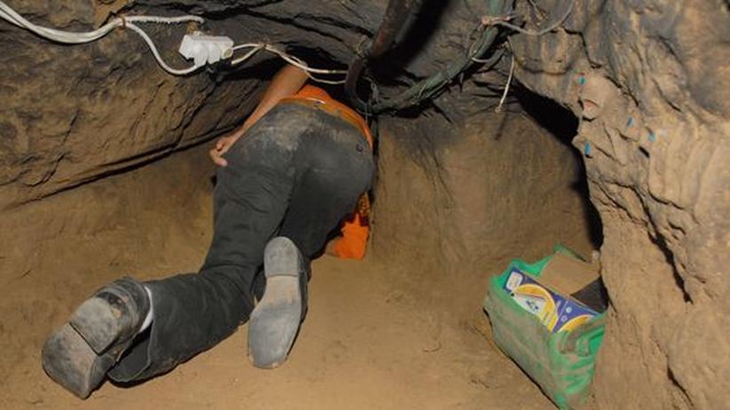 Gaza Palästina Israel Tunnel Schmuggler