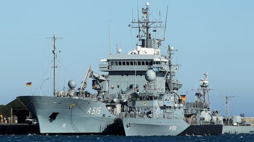 Limassol Zypern Marine Kriegsschiffe