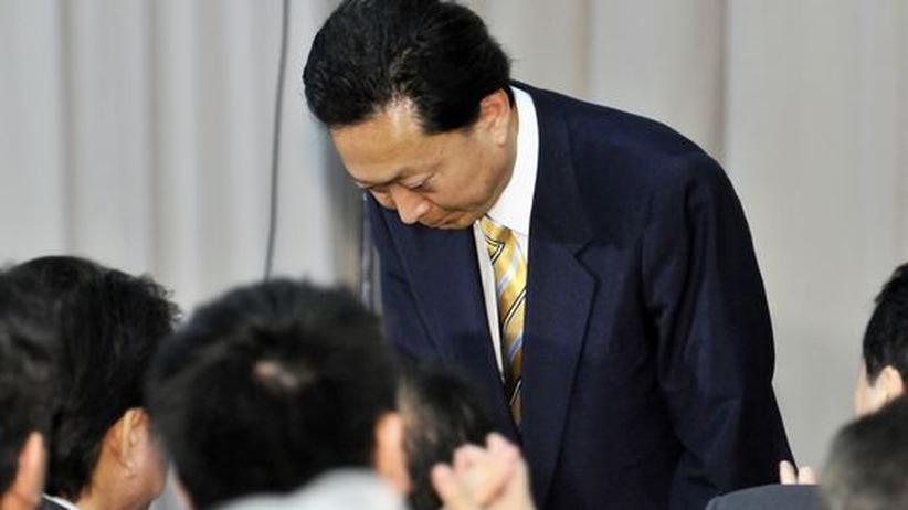 Regierungskrise: Japans Regierungschef Hatoyama tritt zurück