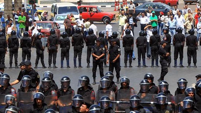 Protest in Alexandria