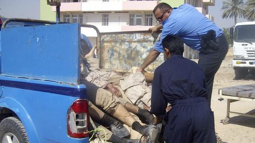 Attentat: Irakische Terroristen setzen Behinderte als Selbstmordattentäter ein