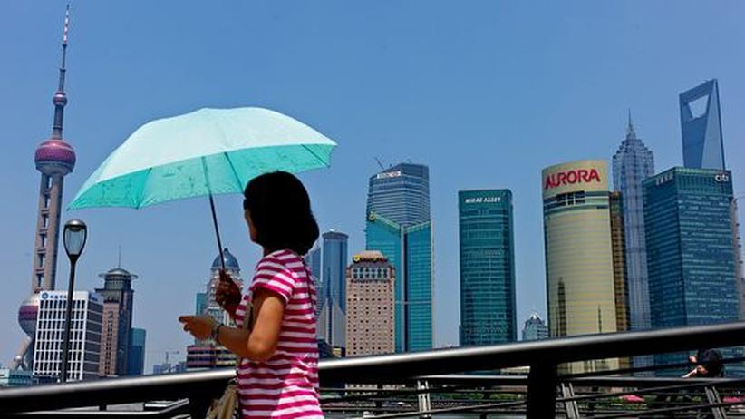 Shanghais Finanzdistrikt