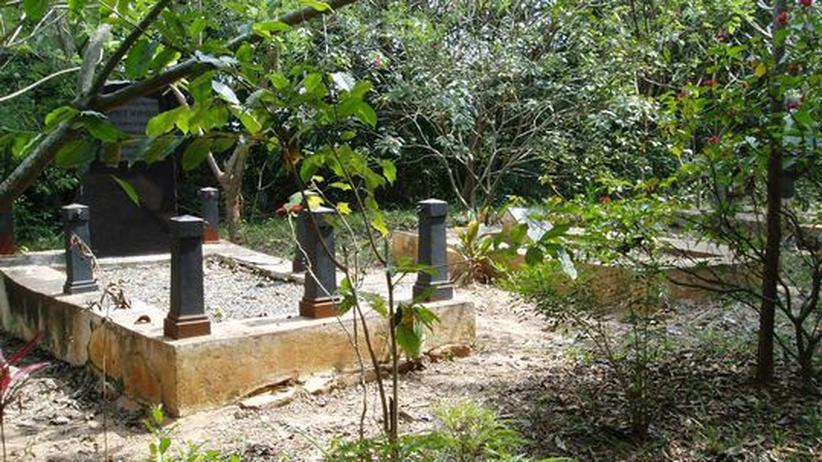 Friedhof der deutschen Kolonialzeit in Missahoe