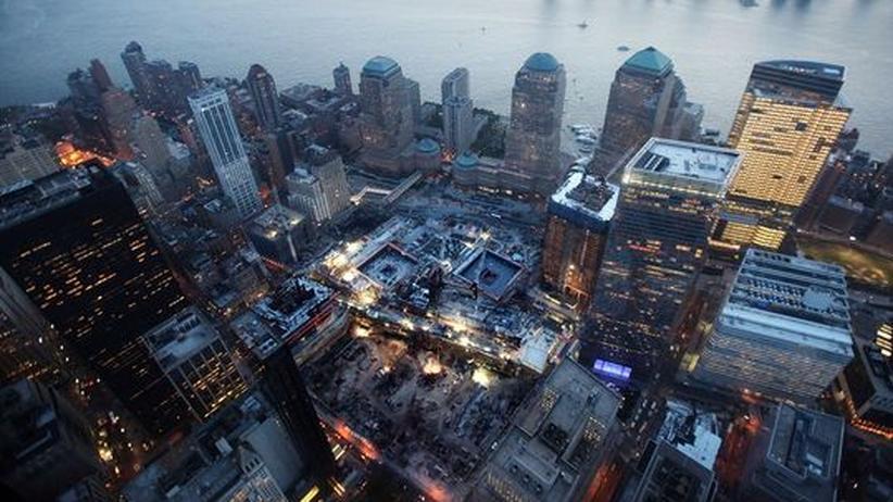 Ground Zero. Hier standen einst die Türme des World Trade Centers