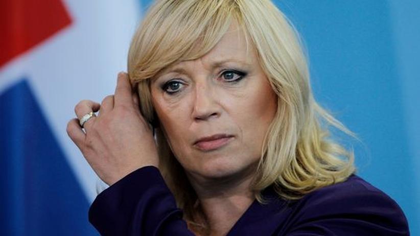 Iveta Radičová slowakische Regierungschefin