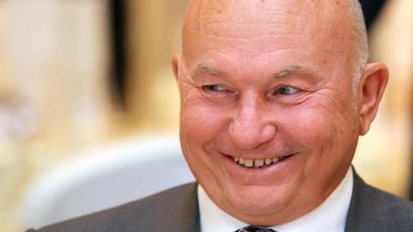 Jurij Lushkow, Buergermeister von Moskau