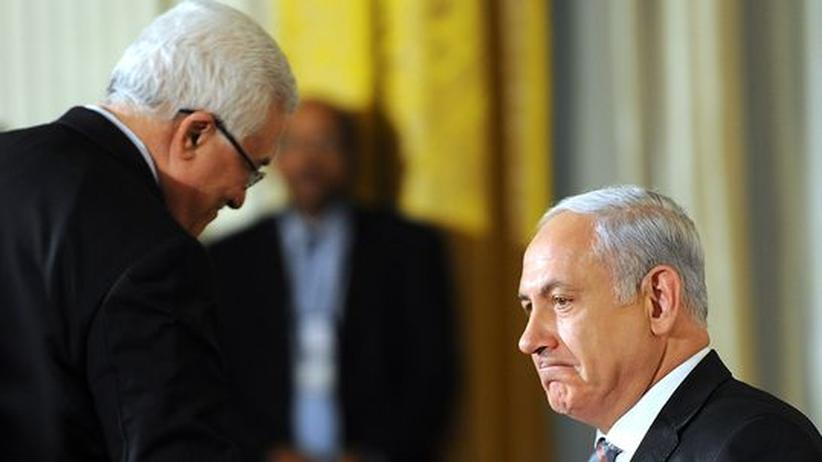Netanjahu Abbas