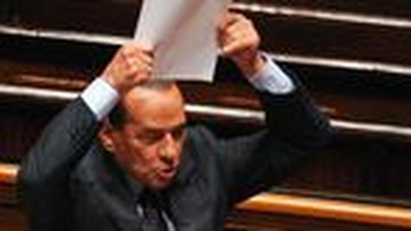 Italien: Rechte Kräfte wenden sich gegen Berlusconi