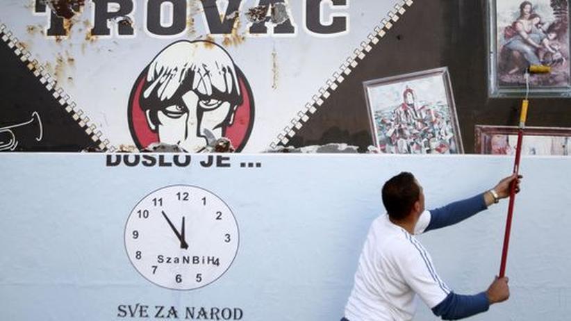 Bosnien, Wahl, Werbung, Plakat, Demokratie, Staat
